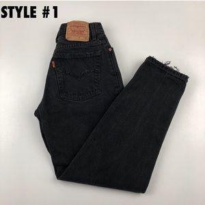 Levi's Jeans - Vintage Levi's Custom Made Orange Tab Re/Done Jean